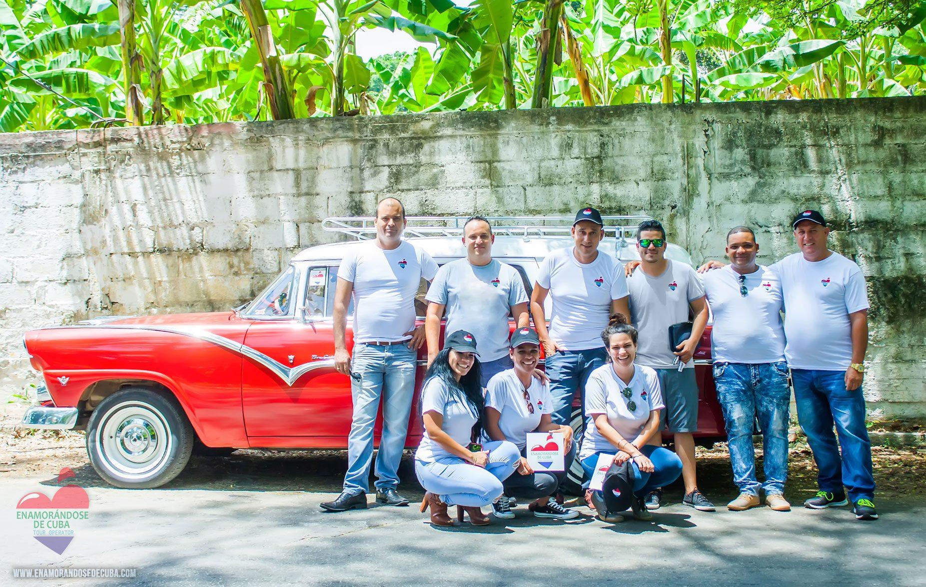 Nuestro equipo de Enamorándose de Cuba